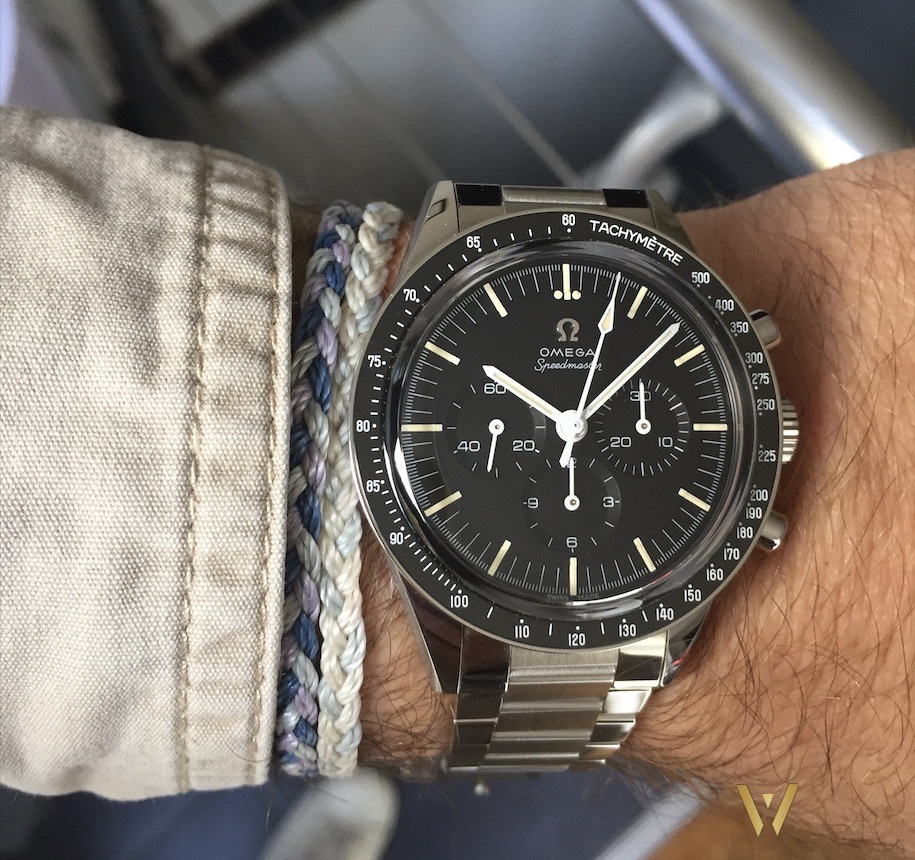 On the wrist - Omega Speedmaster Moonwatch Caliber 321