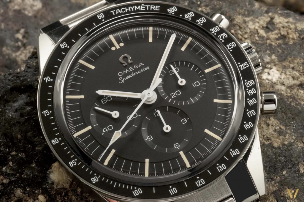 Step dial - Omega Speedmaster Moonwatch Caliber 321