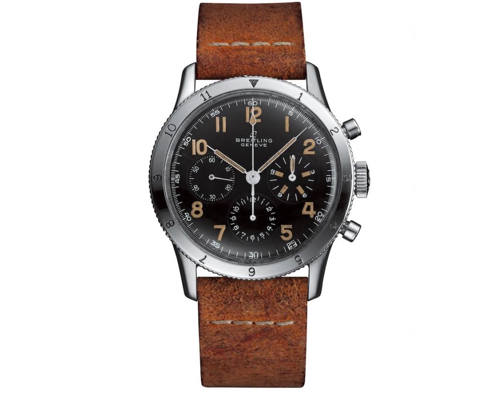 Vintage pilots watches: Breitling AVI 765 Copilot