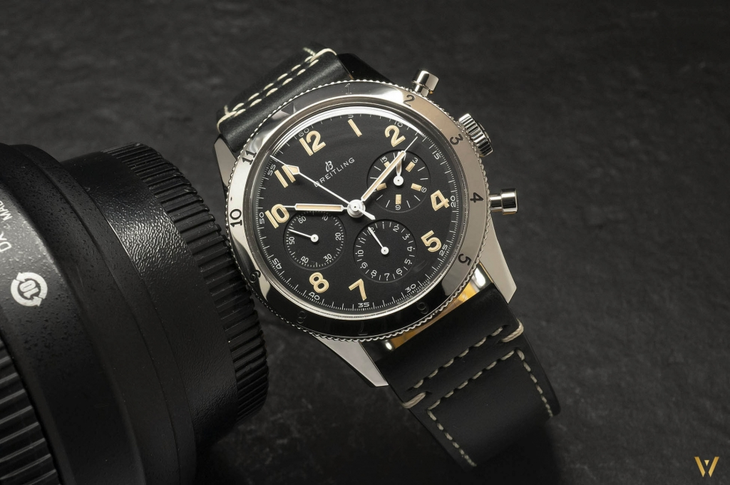 Stunning chronograph: Breitling AVI 765 1953 Re-Edition