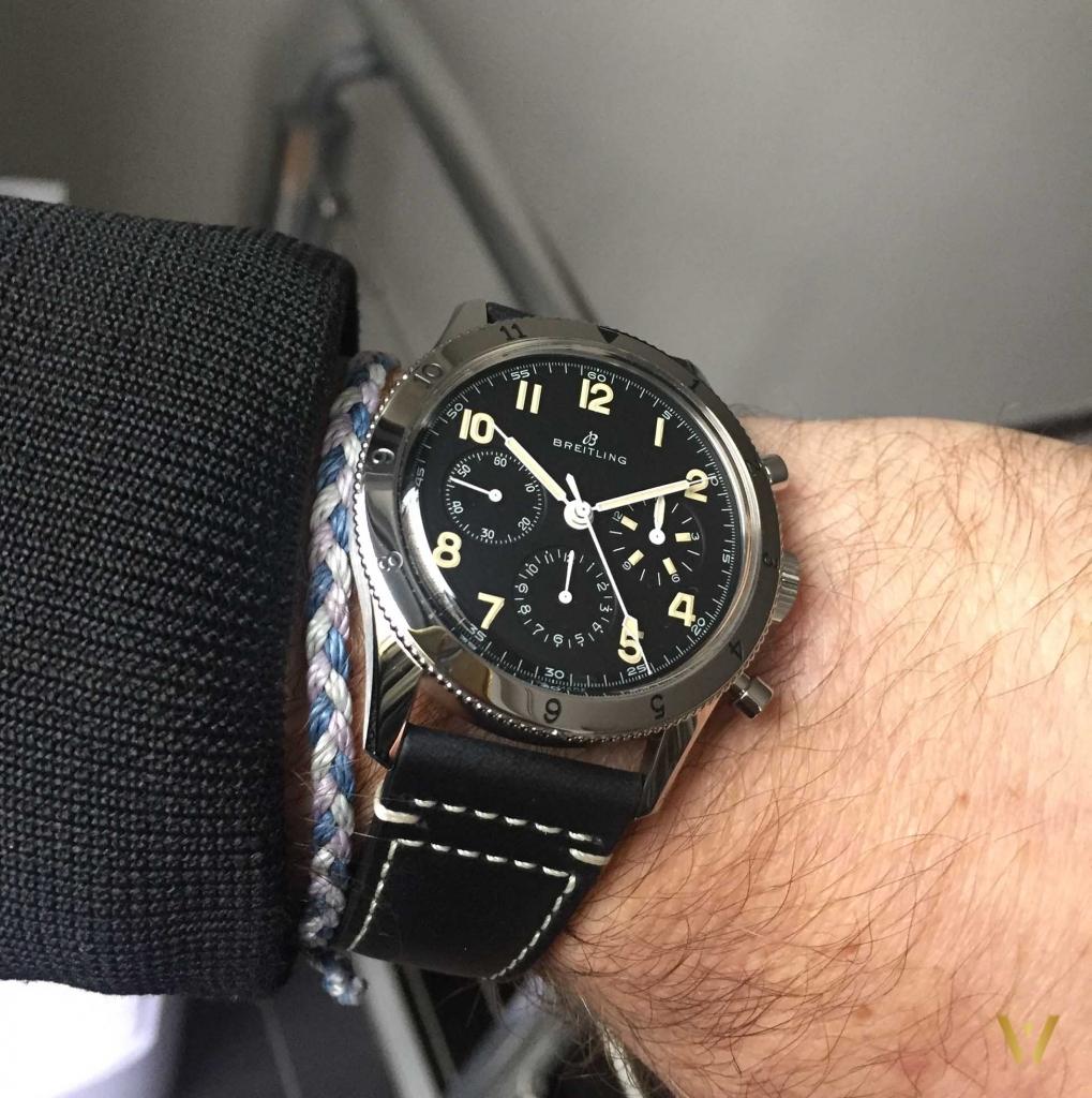Elegant and vintage watch for men