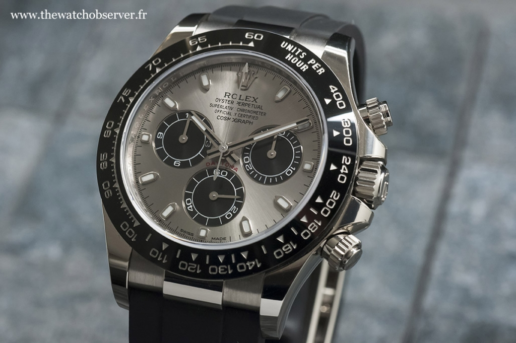 Test hands-on:Rolex Daytona 116519LN