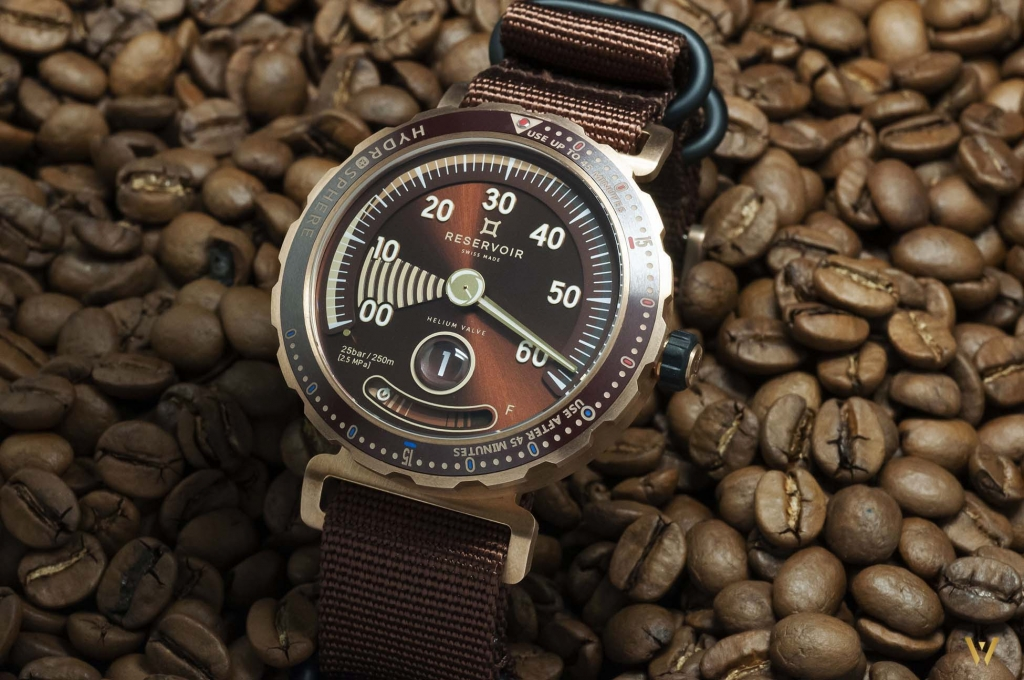 Limited edition RESERVOIR Hydrosphere Bronze Maldives