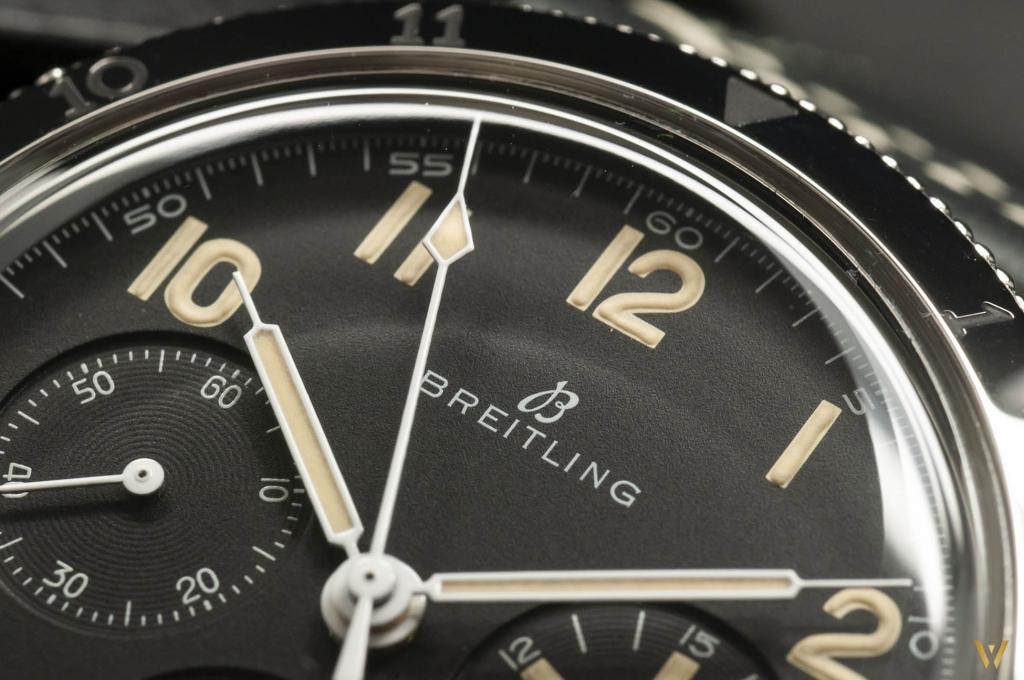 Syringue hands - Breitling AVI 765 1953 Re-Edition