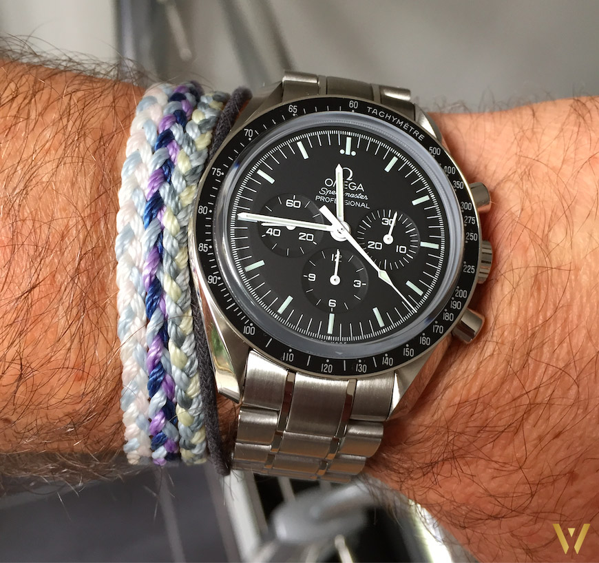 Live wristshot Omega Speedmaster Moonwatch