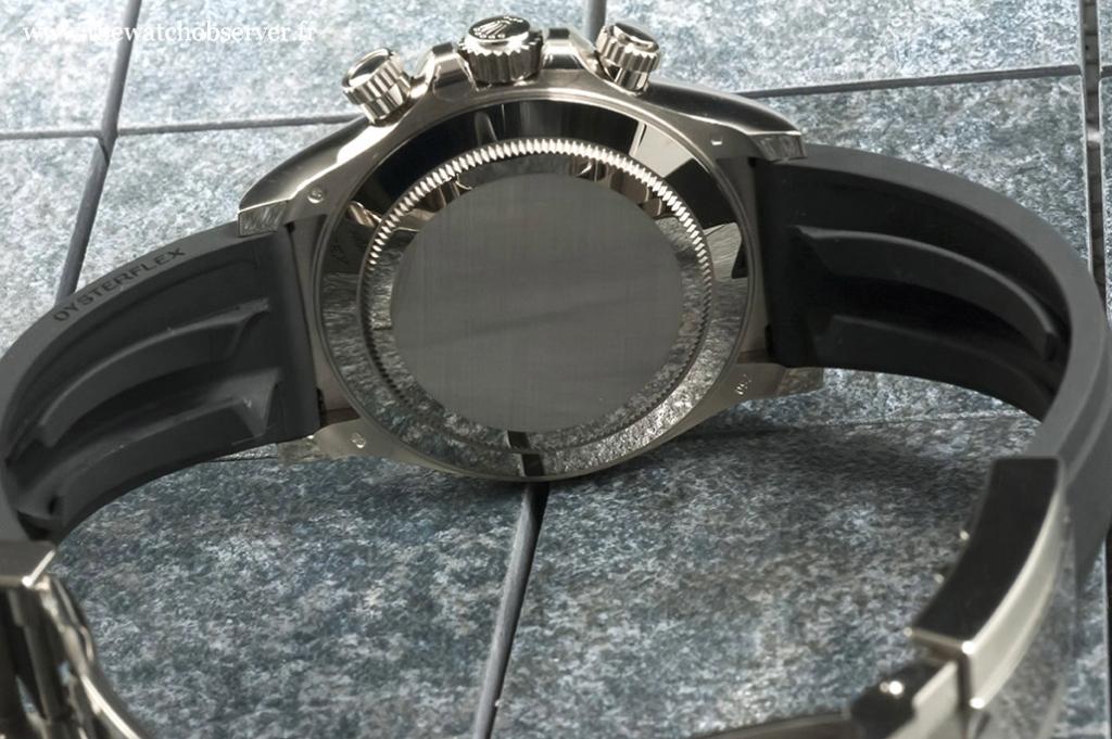 Rolex Oysterflex strap (Rolex 116519LN) - detail #1