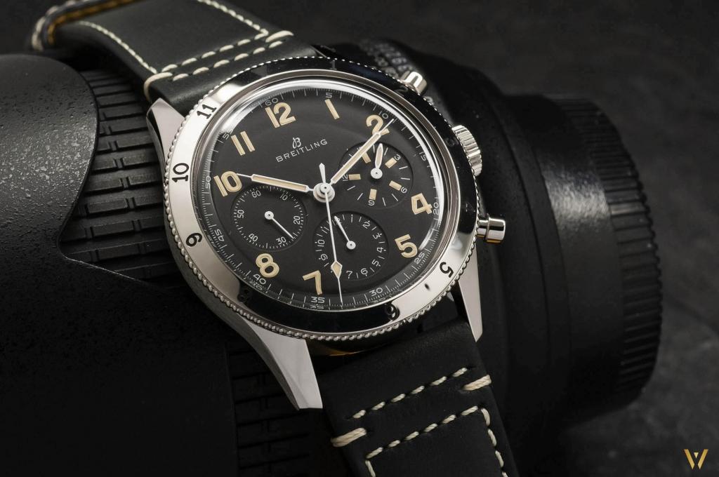 Swiss watch - Breitling AVI 765 1953 Re-Edition