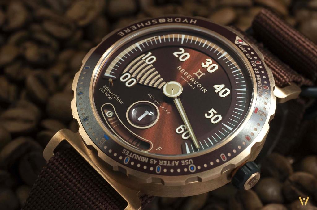 Dive watch - RESERVOIR Hydrosphere Bronze Maldives Edition