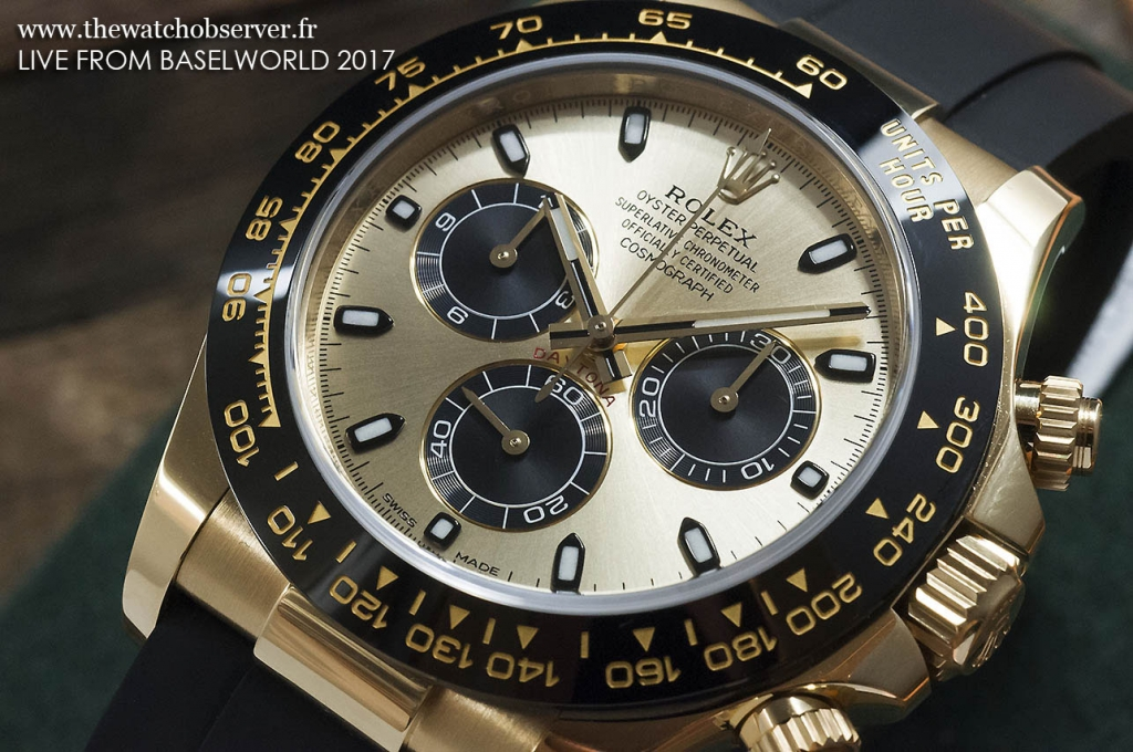 Rolex Daytona yellow gold 116518LN