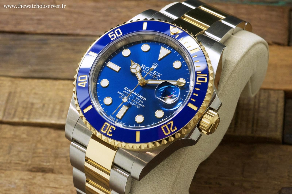 Dive watches: the new Rolex Submariner Date 41 yellow gold and steel