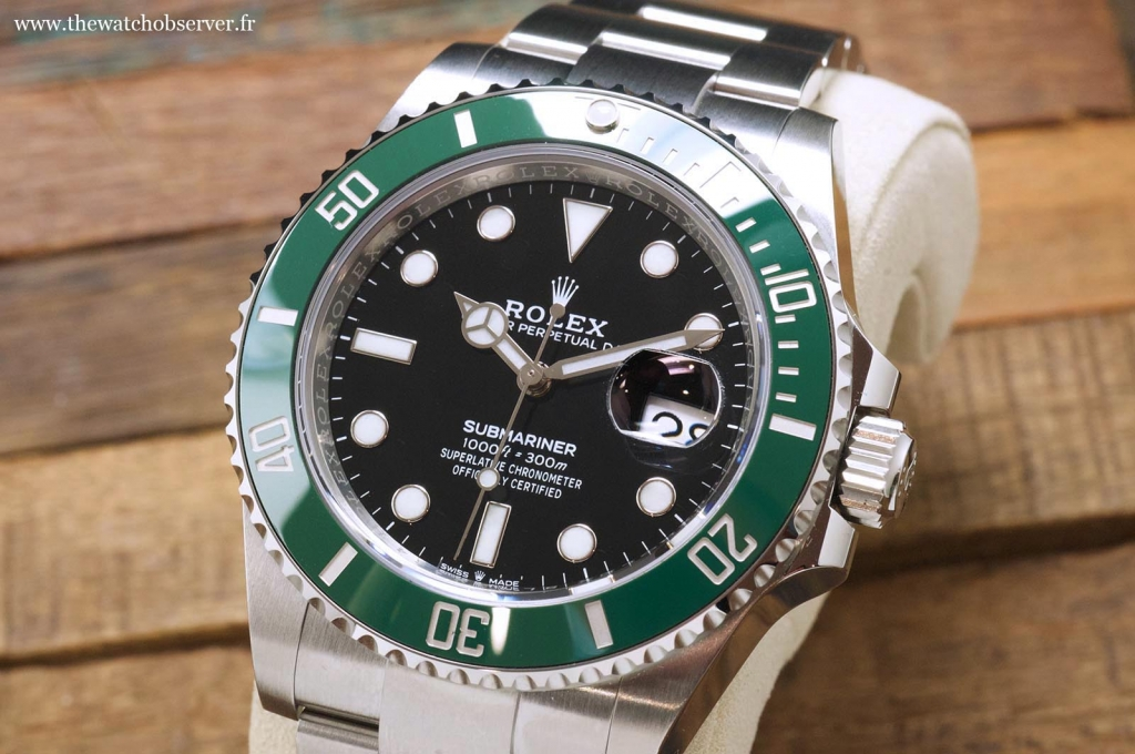 Dive watches: the new Rolex Submariner Date 41 green