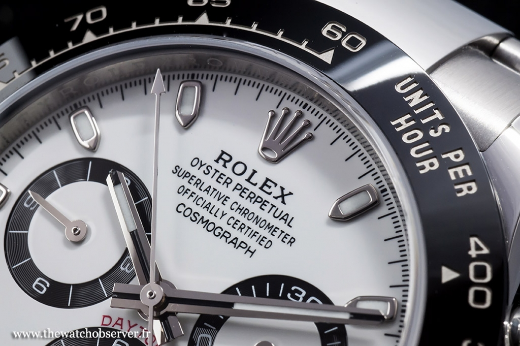 Rolex logo applied - Rolex Daytona 116500LN