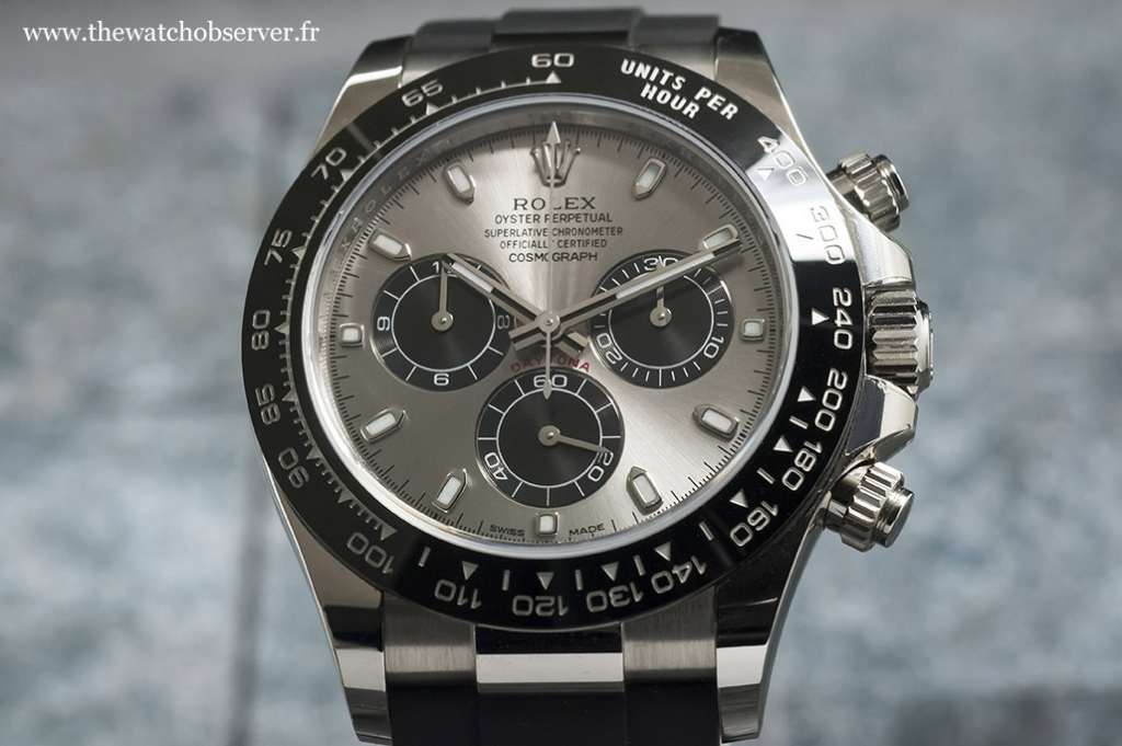 Elegant and sporty chronograph - Rolex Daytona 116519LN