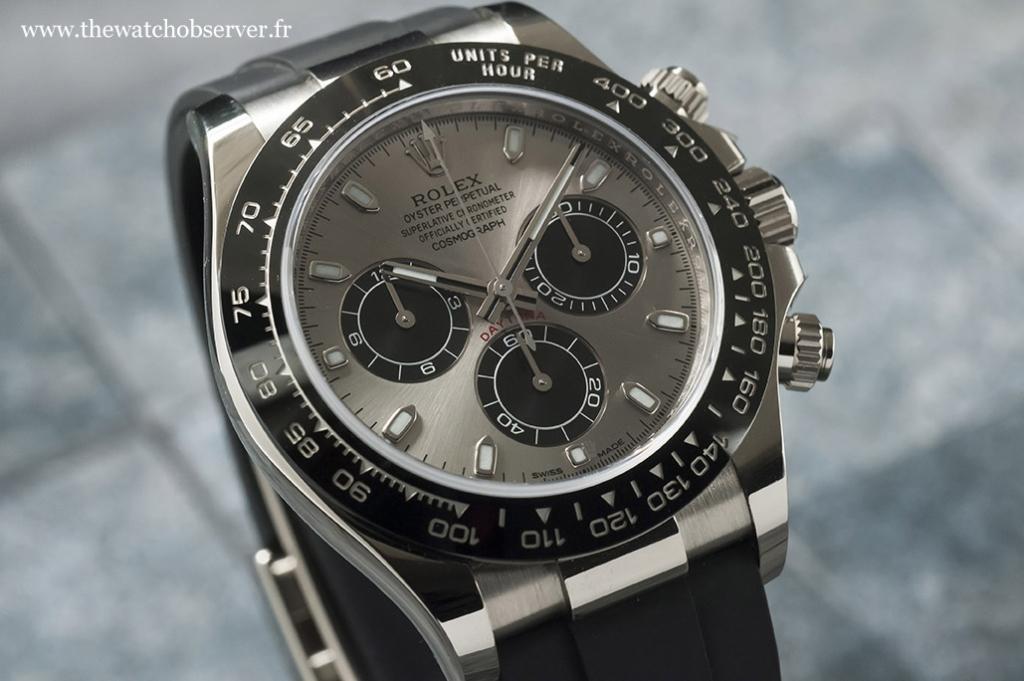 A panda dial - Rolex Daytona 116519LN