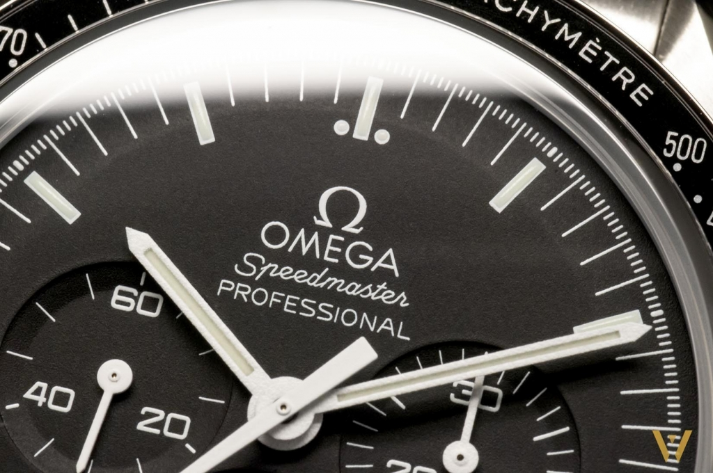 A readable dial - Omega Speedmaster Moonwatch