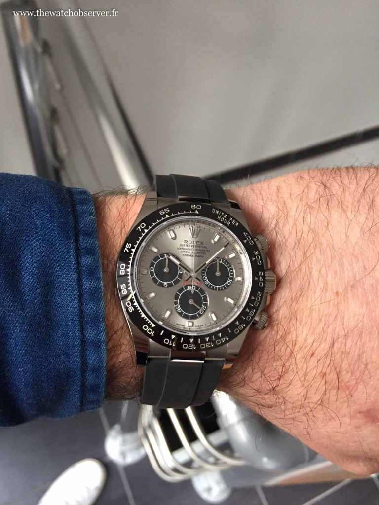 Live wristshot - Rolex Cosmograph Daytona white gold