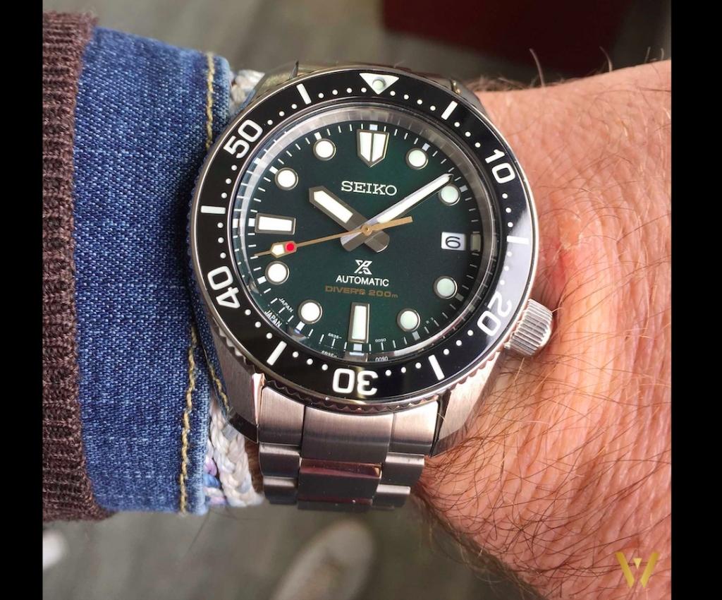 On the wrist Seiko SPB207