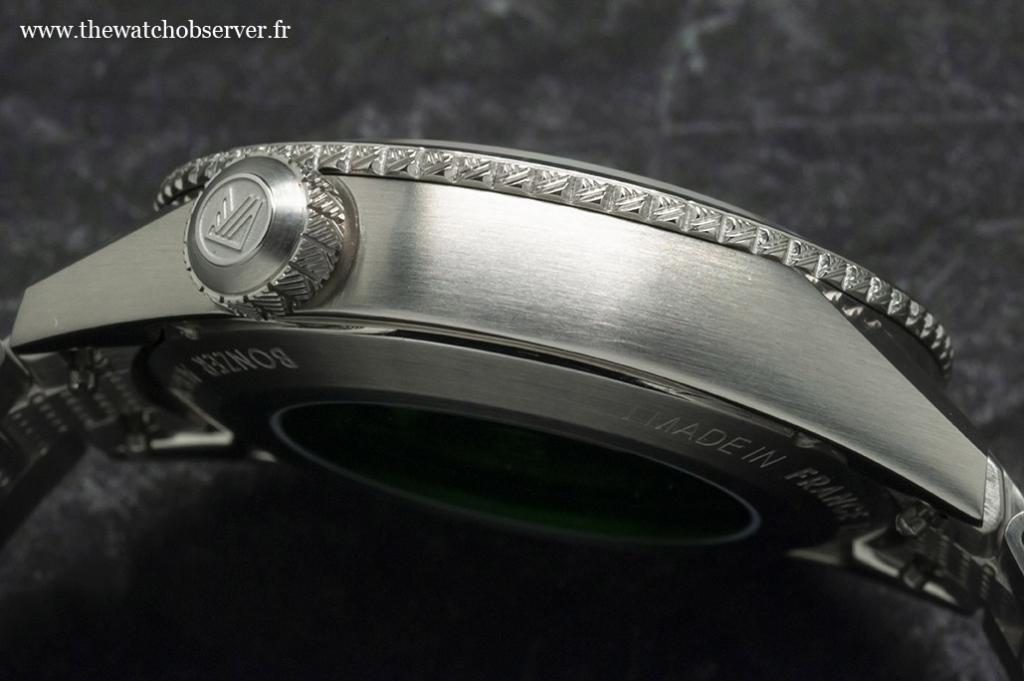 Steel watch: March LA.B Bonzer Double