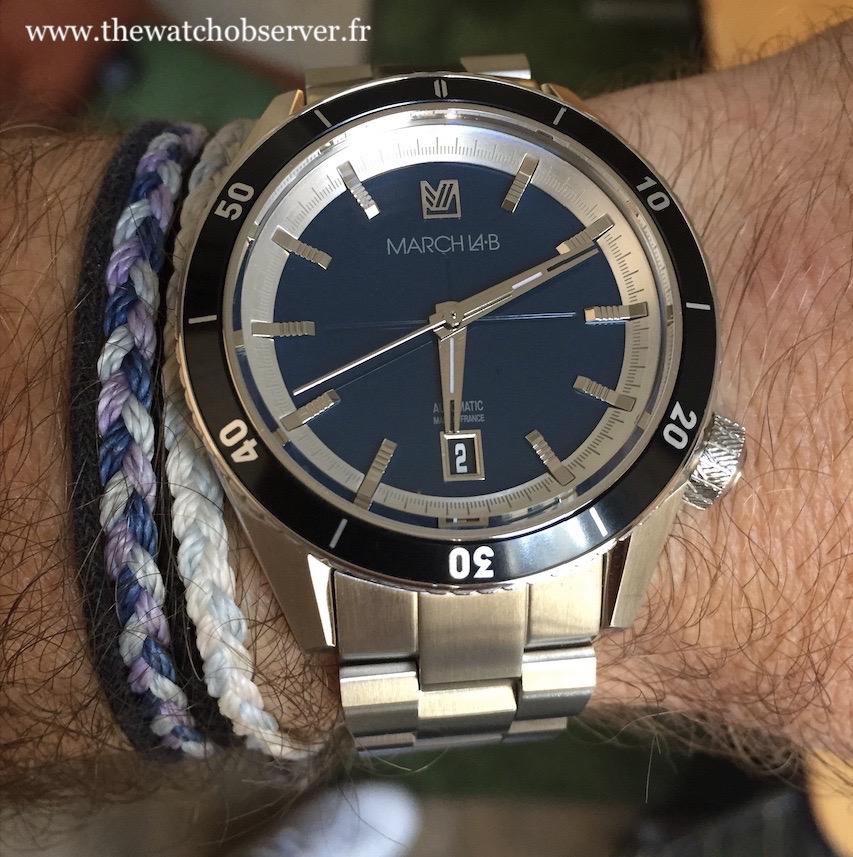 March LAB Bonzer Ocean - French watch