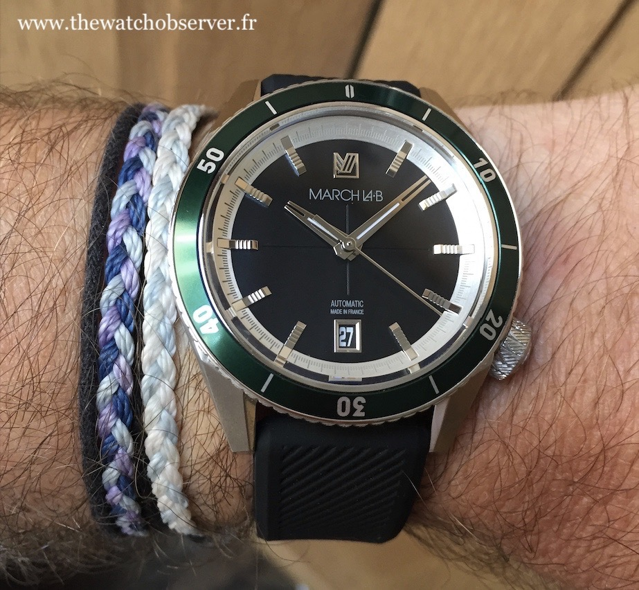 March LAB Bonzer Mars - watch made in France