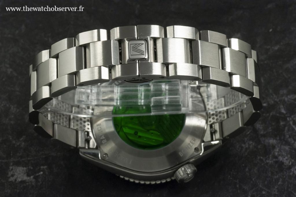 Watch on steel bracelet - March LA.B Bonzer Double
