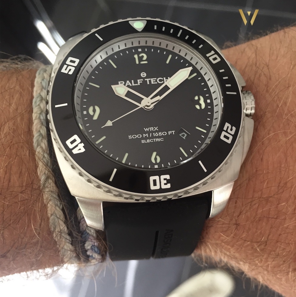 On the wrist - Ralf Tech WRX Electric Original