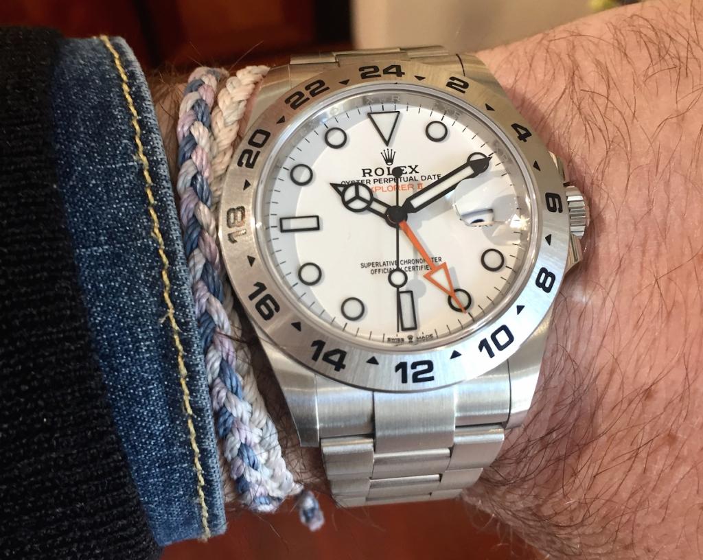 Around the wrist - Watches& Wonders 2021: Rolex Explorer II ref. 226570