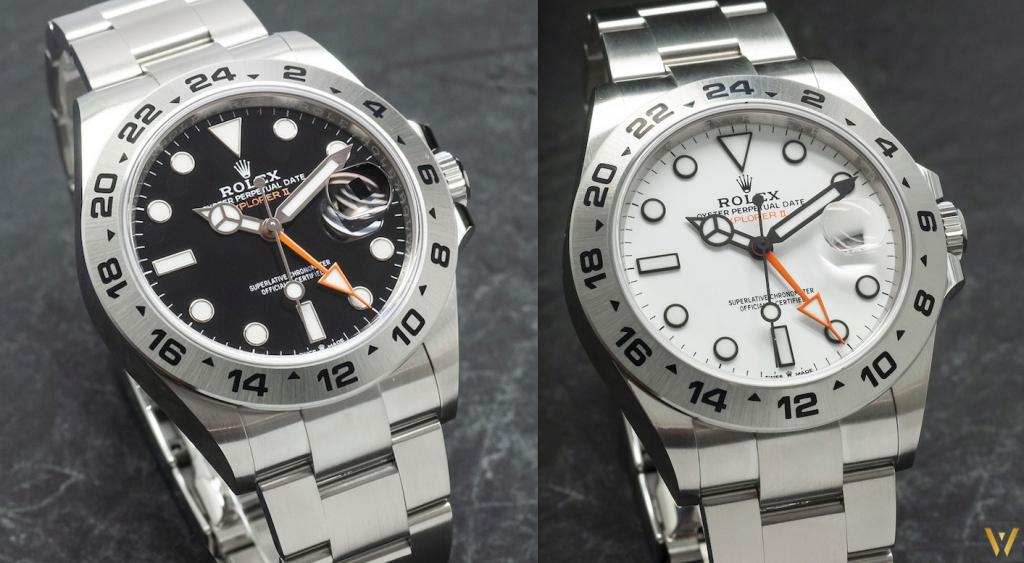 Black or white dial? New Rolex Explorer 2 (2021 versions)
