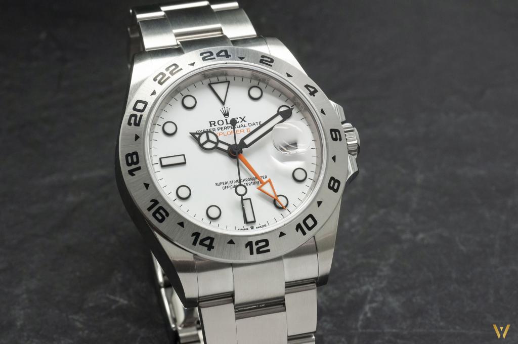 a Polar dial for new Rolex Explorer II ref. 226570