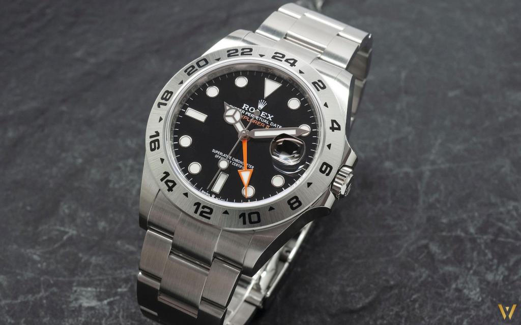 Black dial and orange GMT hand: the new Rolex Explorer II ref. 226570