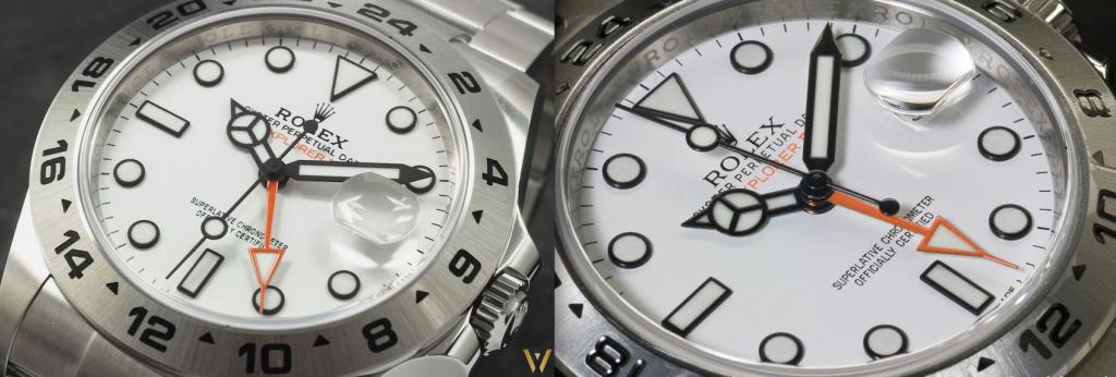 Battle: Rolex 226570 against Rolex 216570