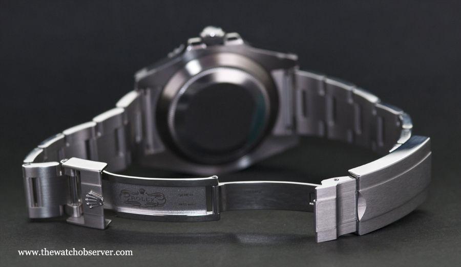 Deployant clasp - Rolex Submariner Date Hulk 116610LV
