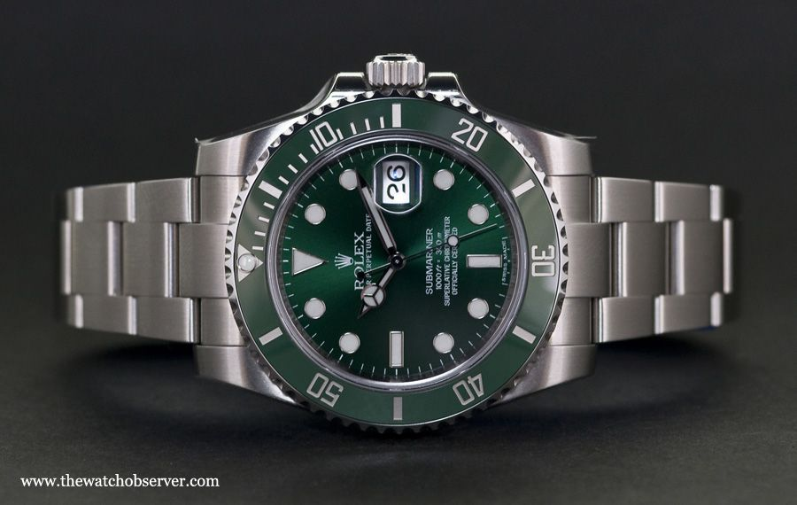 Swiss watches - Rolex Submariner Date 116610LV Hulk