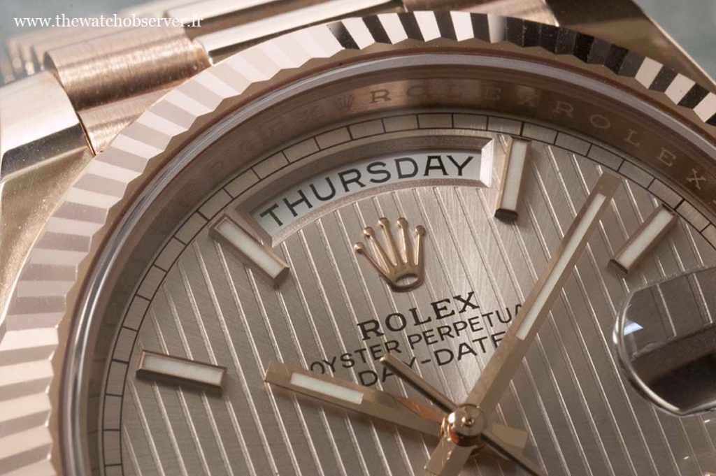 Display of the day - Rolex Day-Date 40