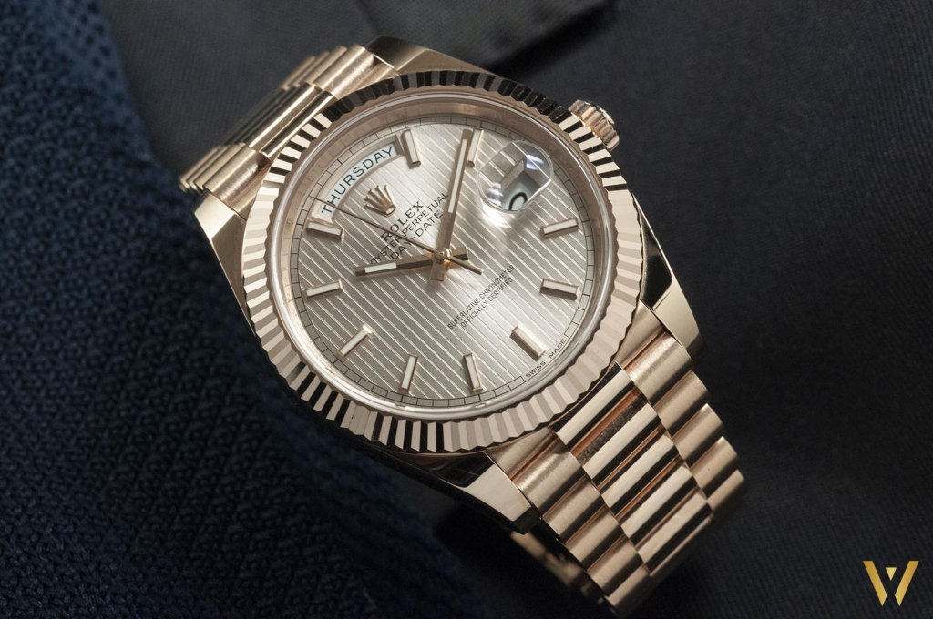 Rolex Day-Date 40 gold Everose 228235: review