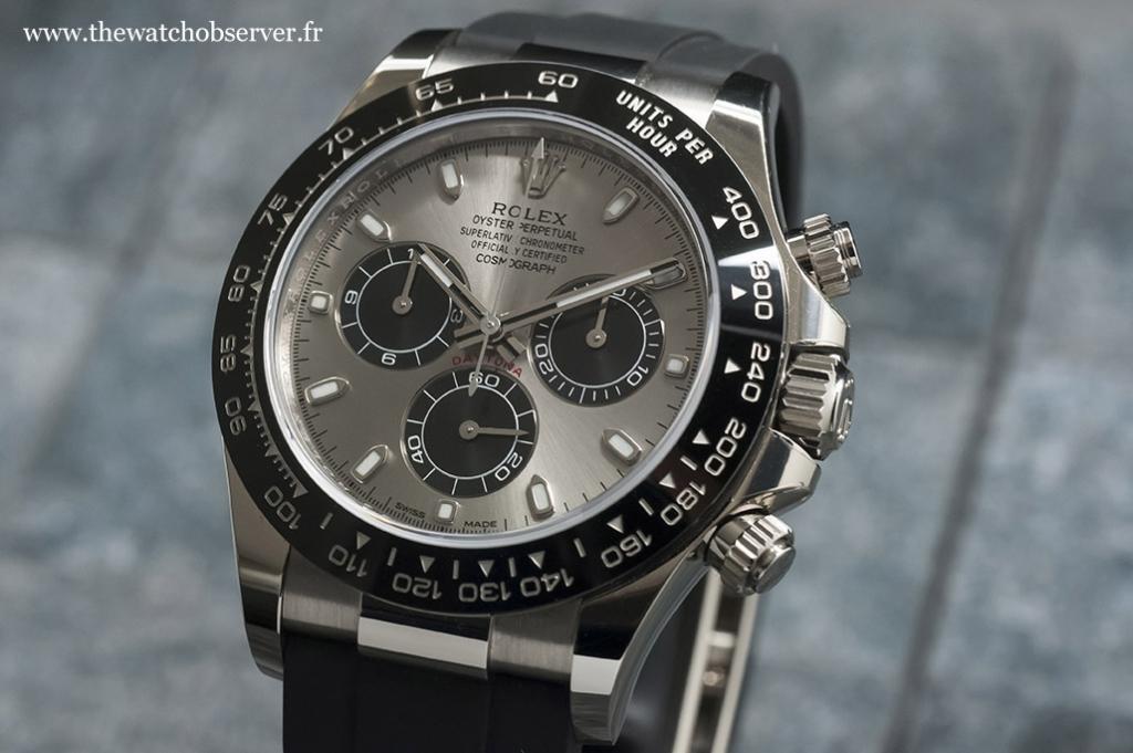 Test hands-on:Rolex Daytona 116519LN