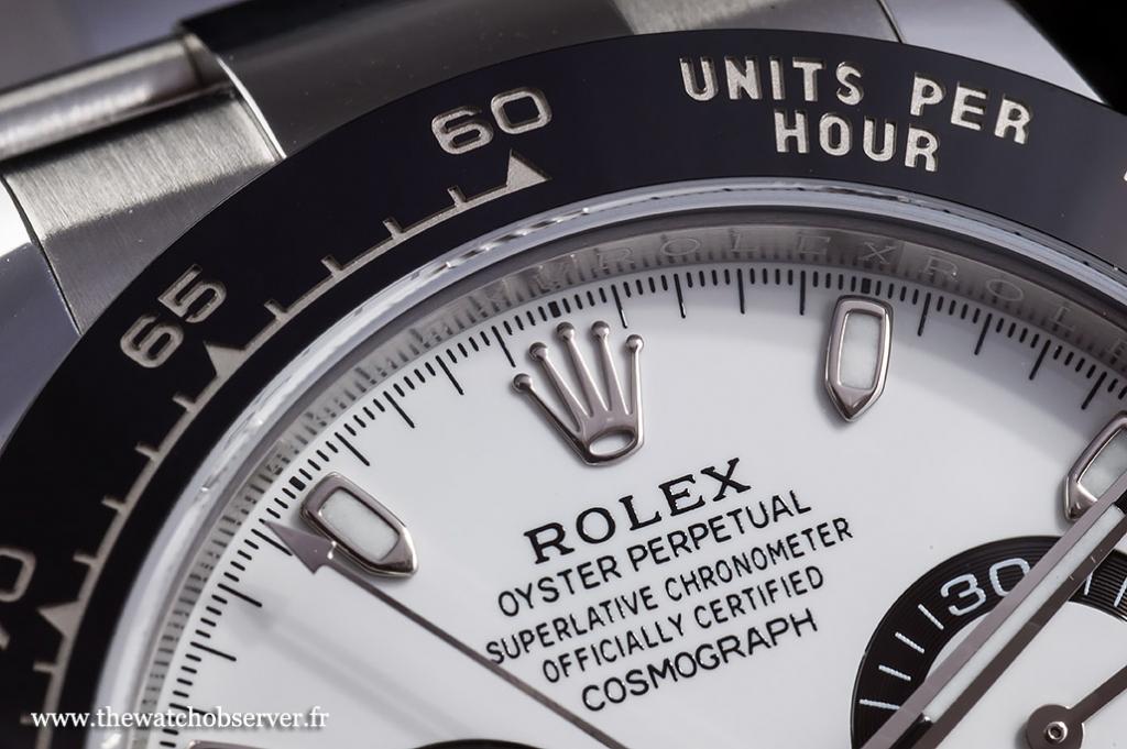Cerachrom bezel - Rolex Daytona 116500LN