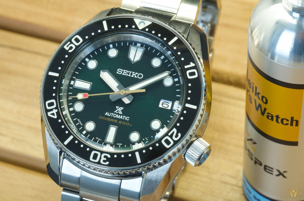 Seiko SPB207: a green dial