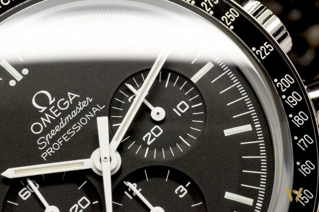 30 minute-counter of the Omega Speedmaster Moonwatch