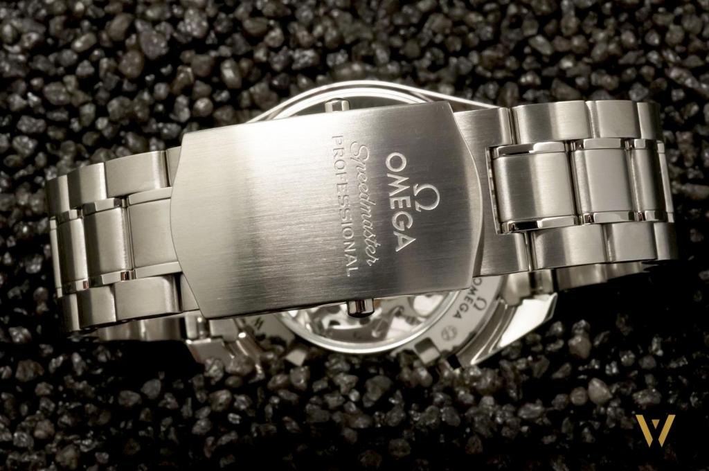 Omega Speedmaster Moonwatch on stainless steel bracleet