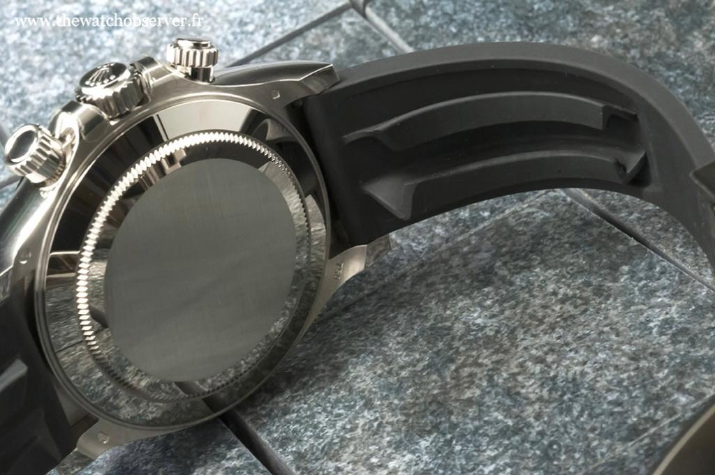 Rolex Oysterflex strap (Rolex 116519LN) - detail #2