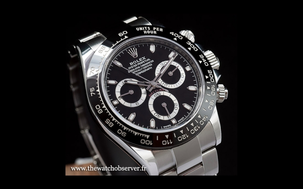 Rolex Daytona 116500LN black dial version