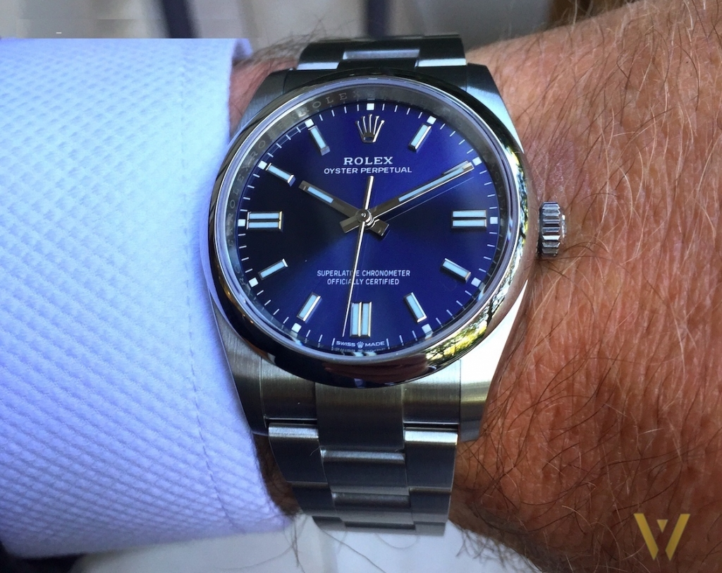 The anti-reflective saaphire glass: a Rolex revolution