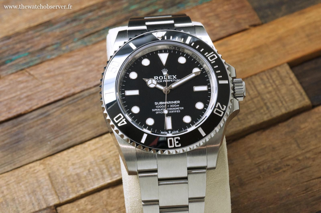 The new Rolex Submariner 41 No Date