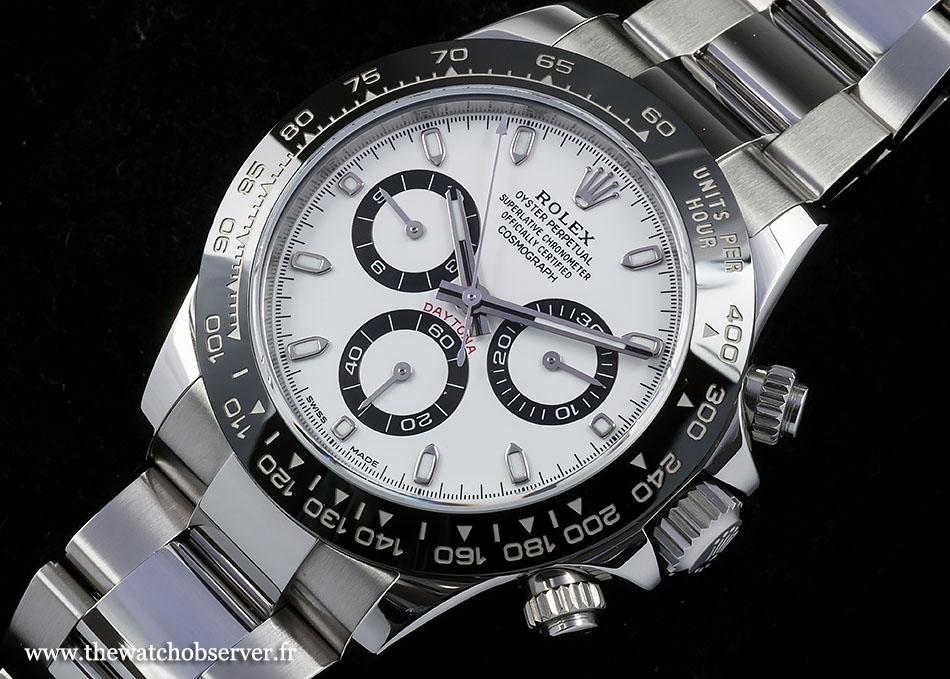 A lovely chronograph: Rolex Daytona 116500LN