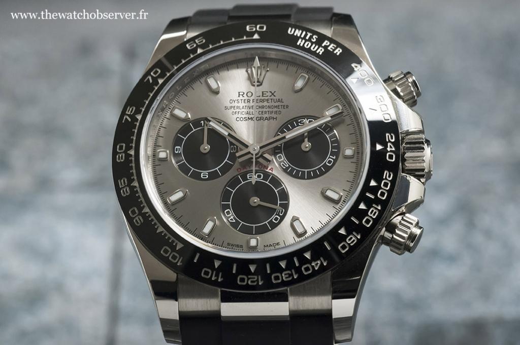 Elegant and sporty chronograph - Rolex Daytona 116519LN