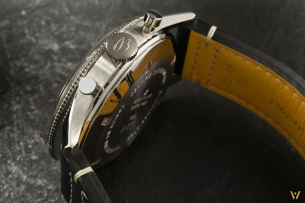 Steel case - Breitling AVI 765 1953 Re-Edition