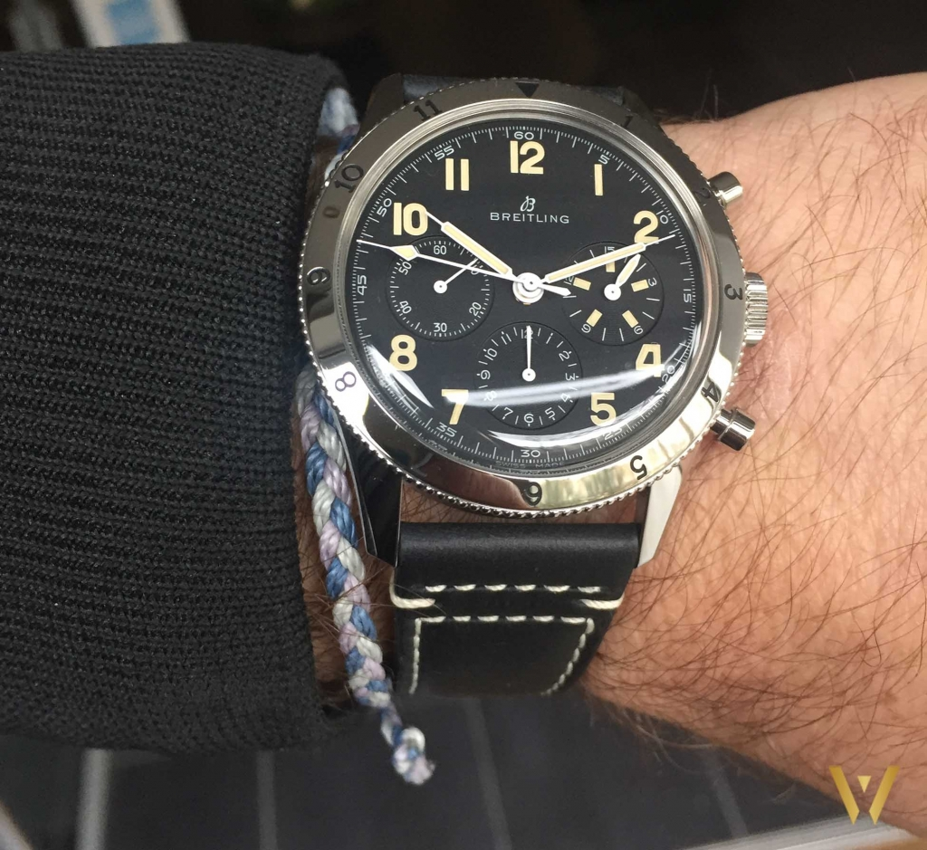 Around the wrist: Breitling AVI 765 1953 Re-Edition