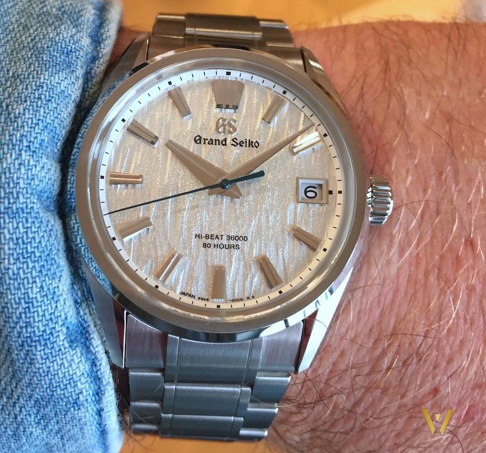 On the wrist Grand Seiko SLGH005