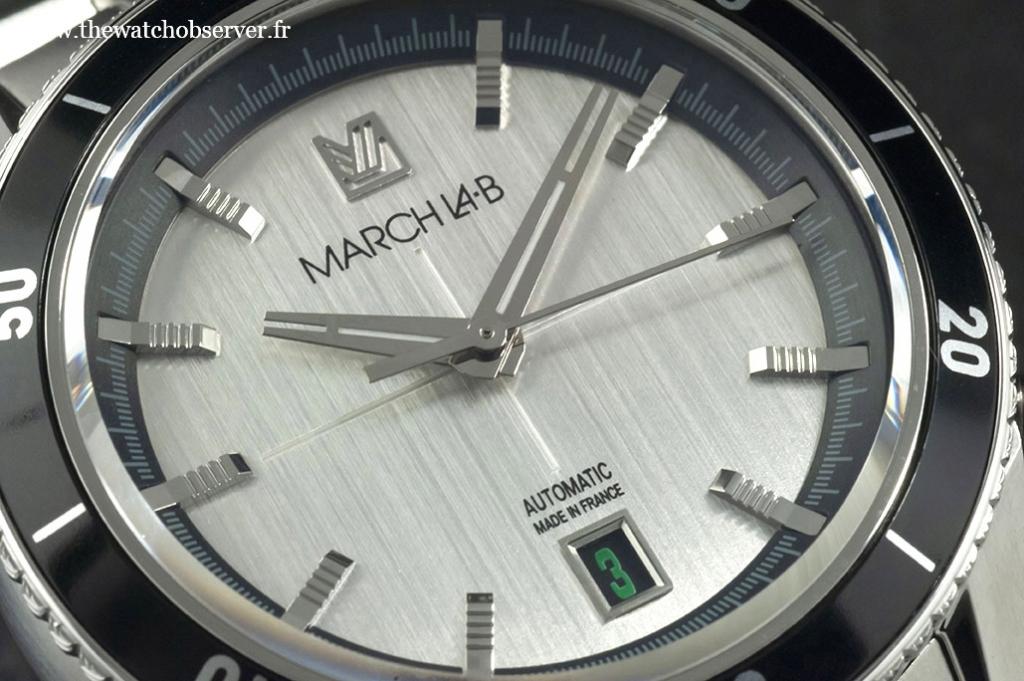 Silver dial - March LA.B Bonzer Double
